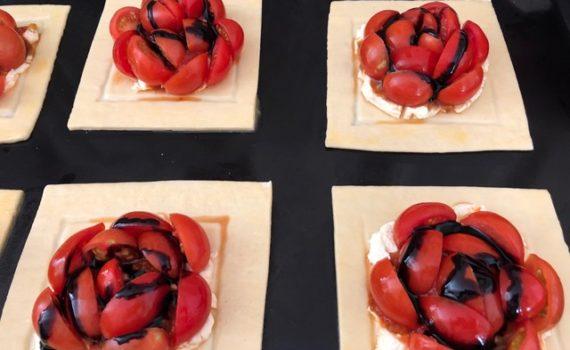 Tasty Tomato Tarts